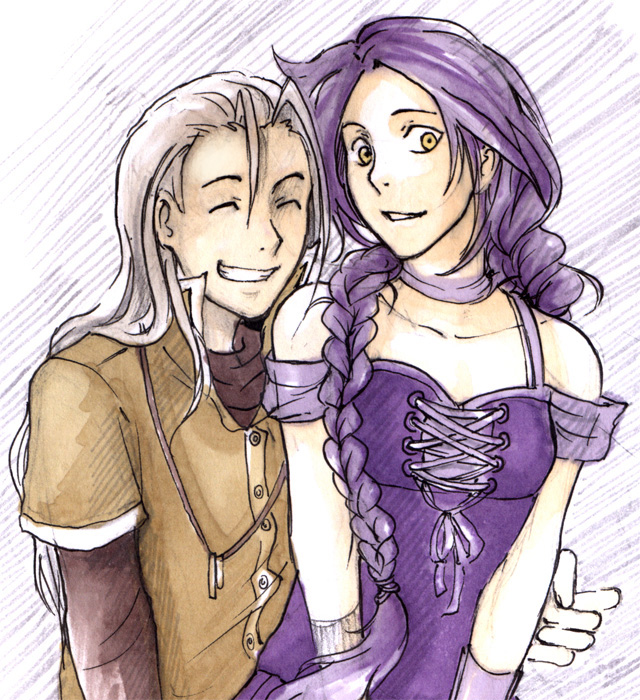 Kordian and Berenika by Lapis-Razuri