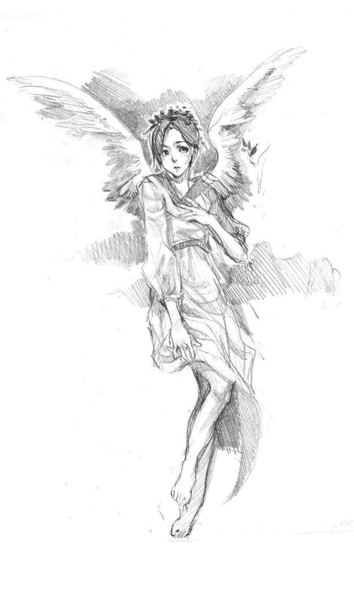 sketch 1510angel by