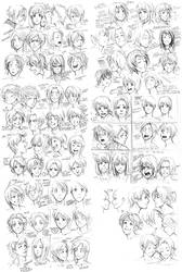 74 expressions instant by Razurichan