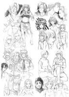 Sketchdumpling 6 by Razurichan