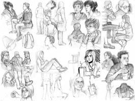 Portfolio sketches 3 by Razurichan