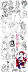 now THIS is a sketchdump XD 1 by Razurichan