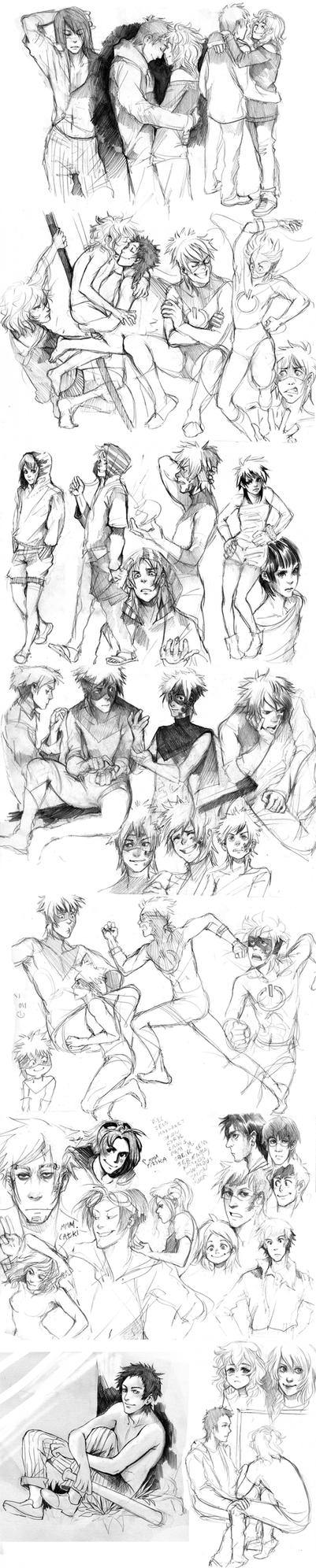 sketches-friday-monday by Razuri-the-Sleepless
