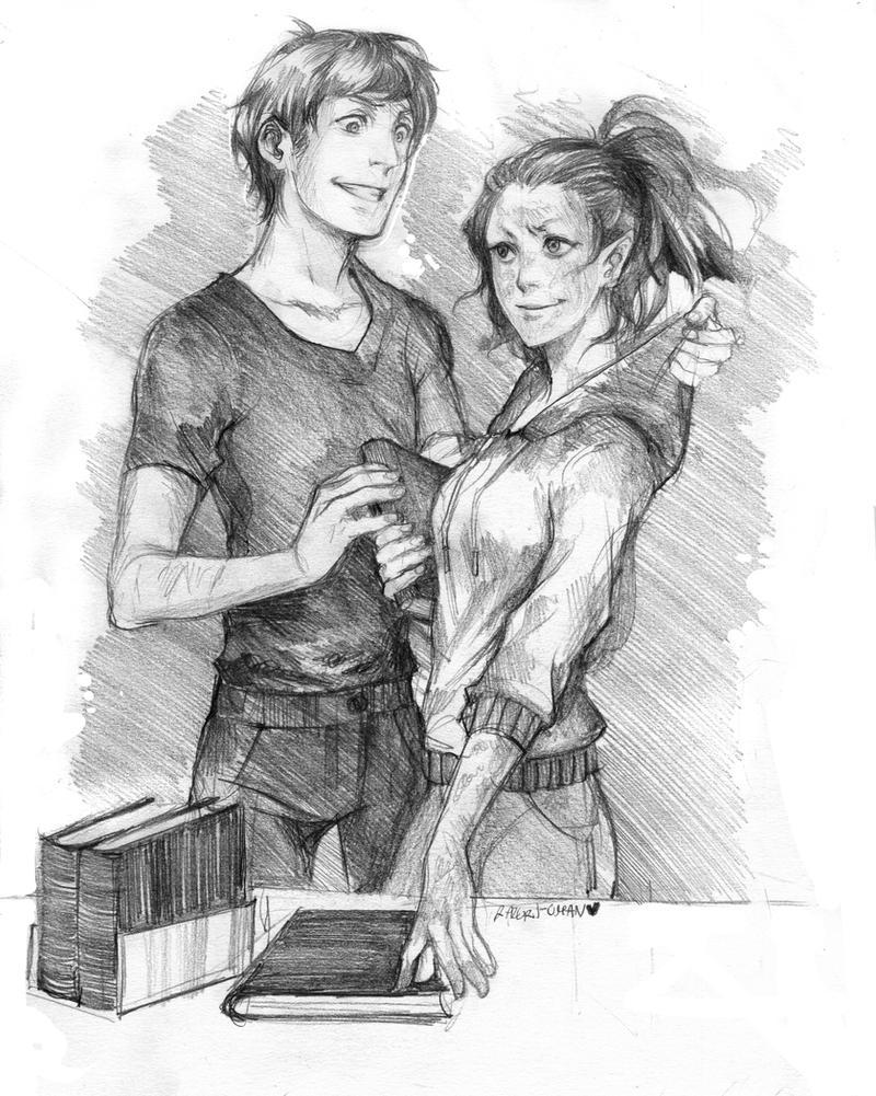 Gabriel and Kelaina by Lapis-Razuri
