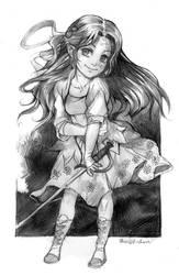 Chibi Robin by Razurichan