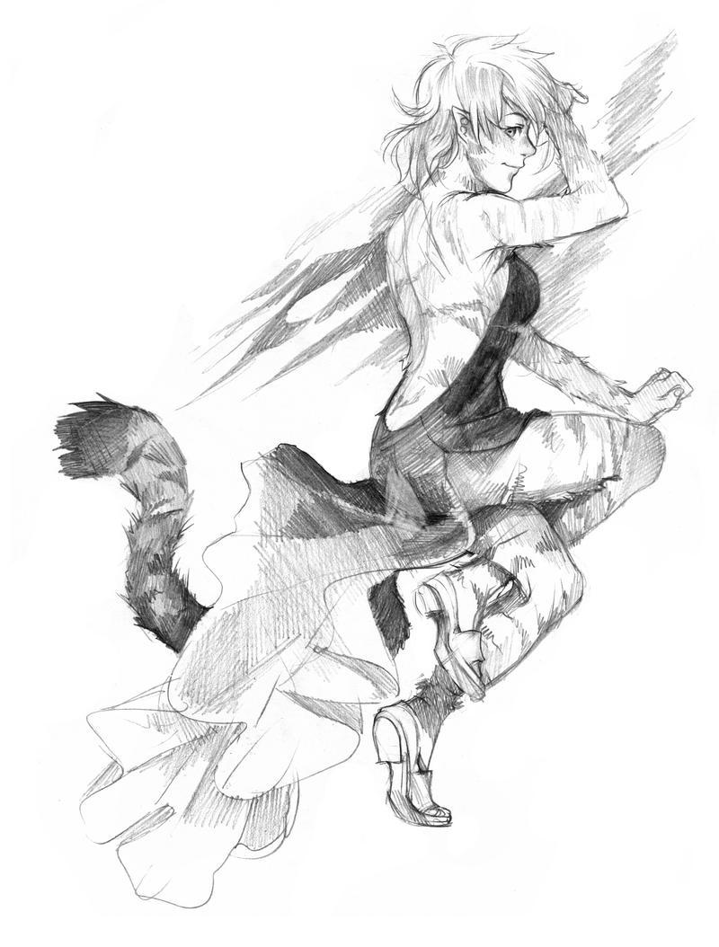 Classy Tiger by Razuri-the-Sleepless
