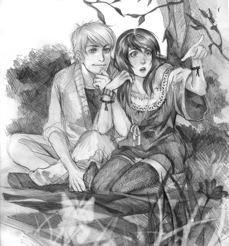 Mae and Luke by Lapis-Razuri