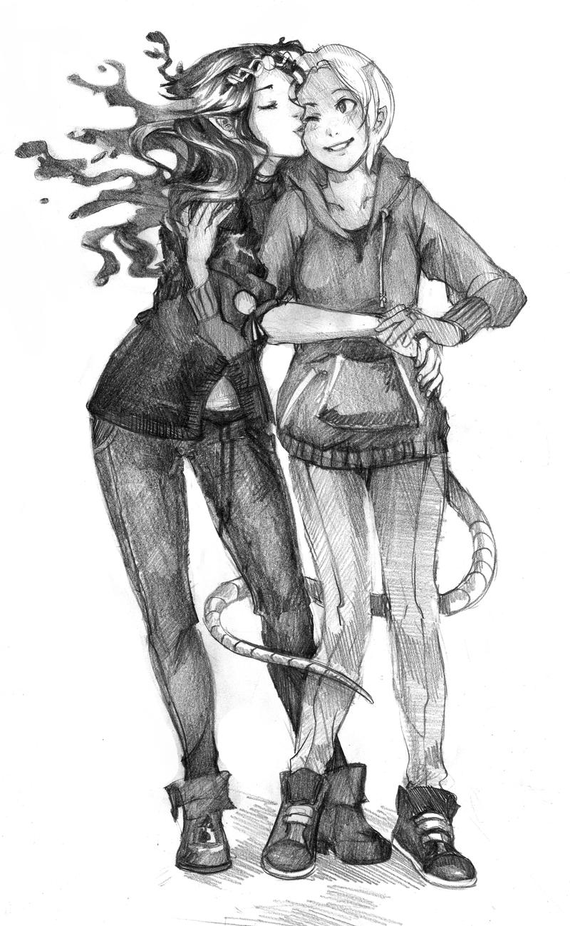 Irena and Nadia by Lapis-Razuri