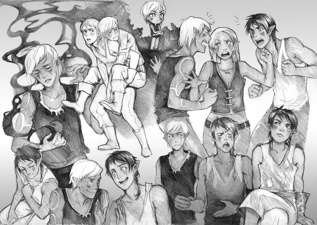 Sketchpage commission-Hydropalika by Razuri-the-Sleepless