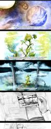 Far Beyond the World Trailer storyboard 1 by Razurichan