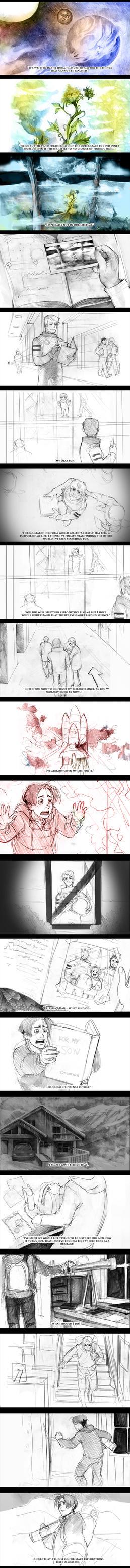 Far Beyond the World Trailer storyboard 1 by Lapis-Razuri
