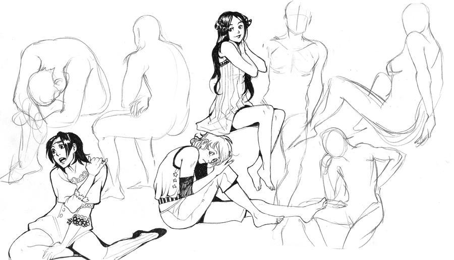 lineart practice by Lapis-Razuri