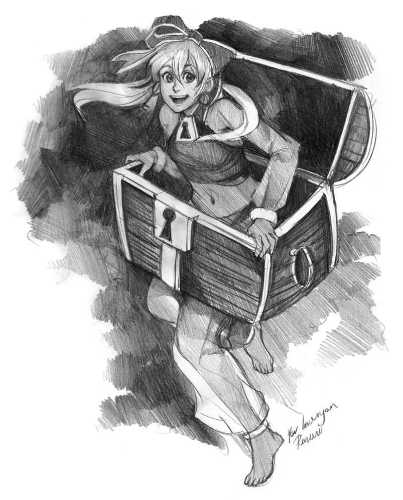 Casting prize- Inuryan by Lapis-Razuri