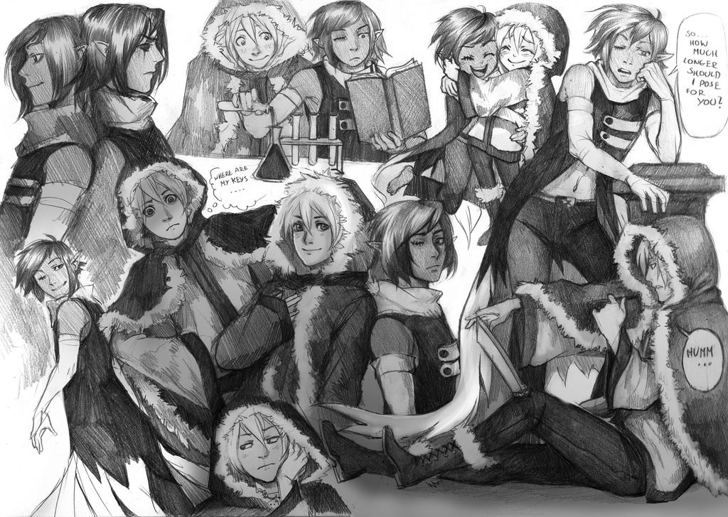 Destry Helmy Sketchpage by Razuri-the-Sleepless