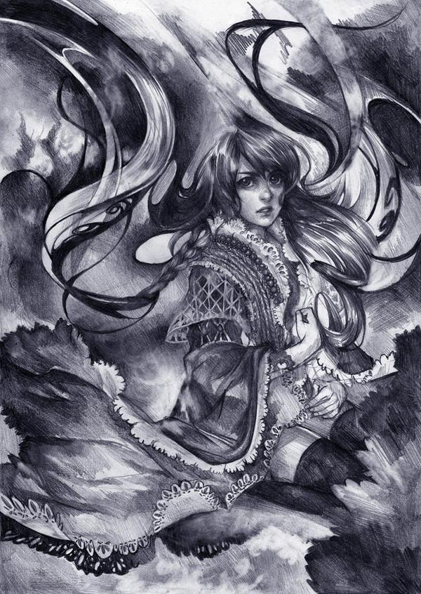 Slavic Summoner by Lapis-Razuri