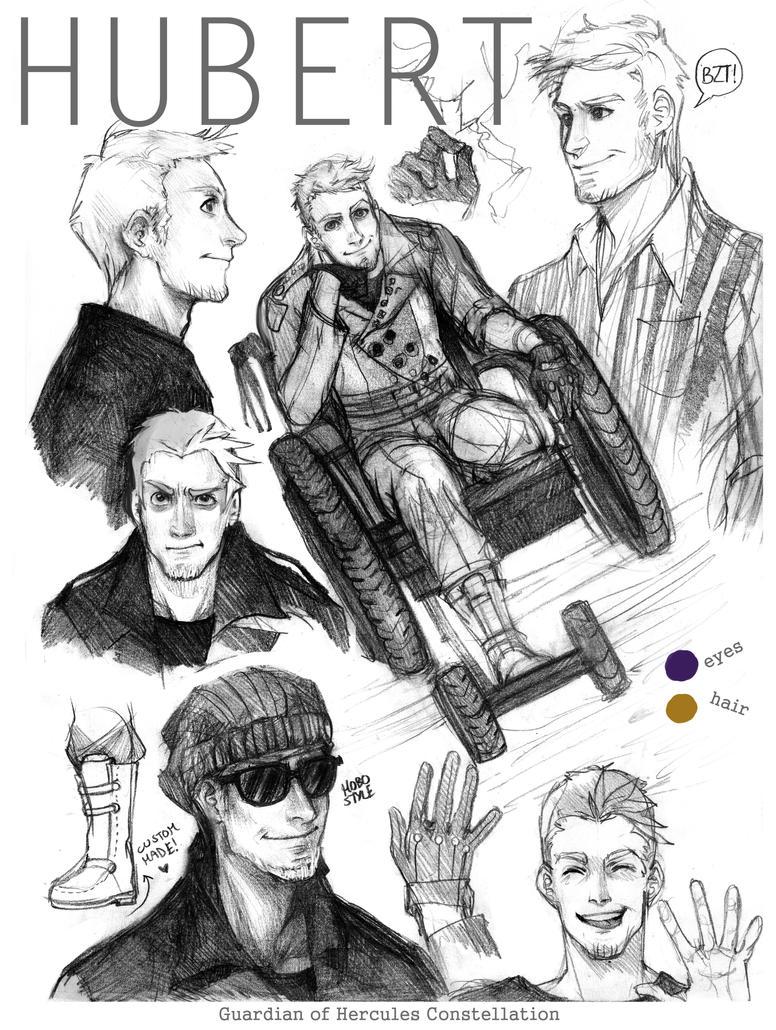 Hubert character sheet by Lapis-Razuri