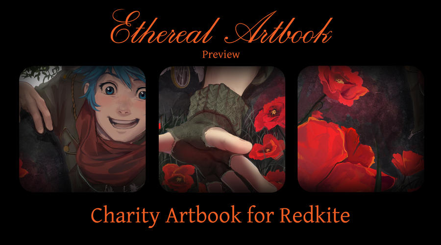 Ethereal Artbook Preview by Lapis-Razuri