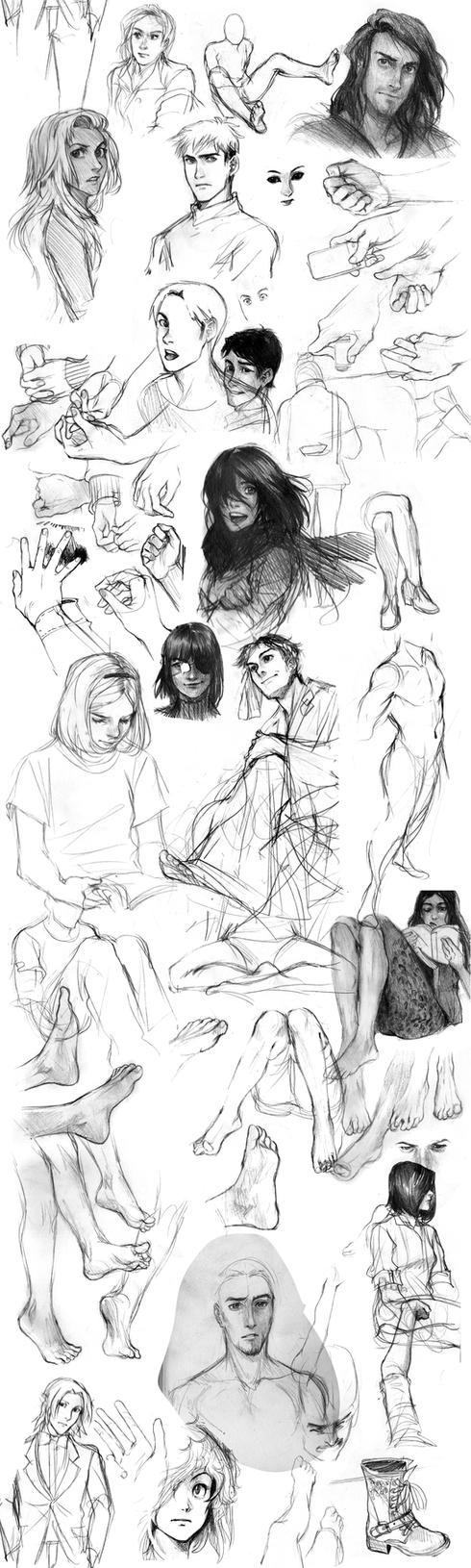 long time no sketchdumps by Lapis-Razuri