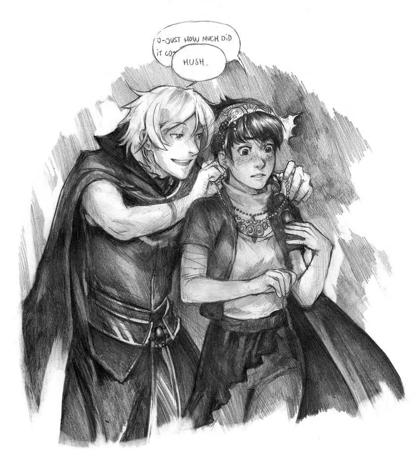 Ta'ira and Caleb by Razuri-the-Sleepless