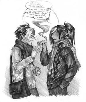 Shiny vs All Grumpy by Razurichan