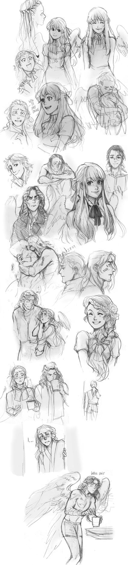 Olivier Claude Tosia sketch compilation by Lapis-Razuri