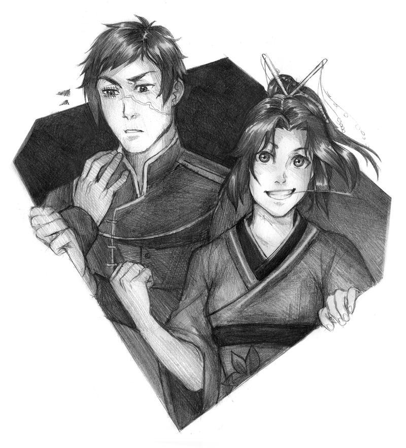 Zenshi and Sayuri by Lapis-Razuri