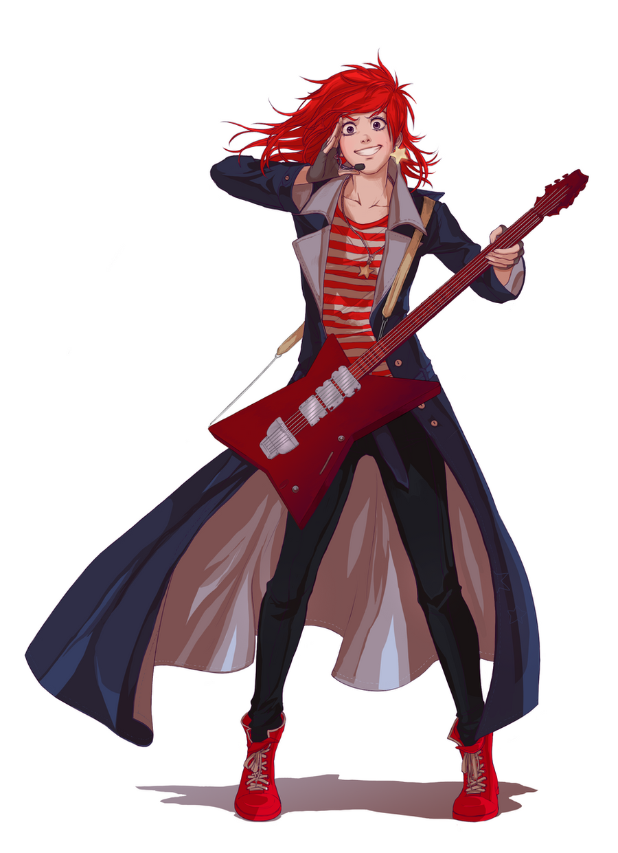Rock on! by Lapis-Razuri