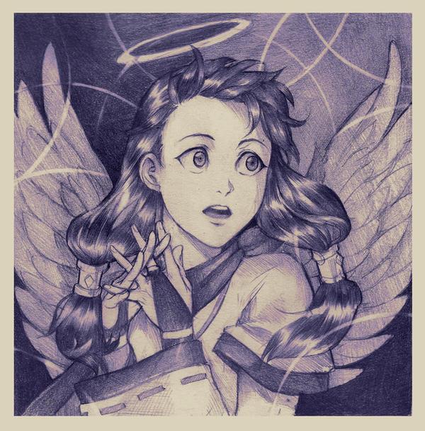 Angelic Kazue by Lapis-Razuri