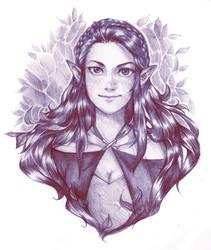 Maia by Razurichan