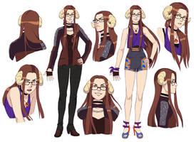 Barbara character sheet by Razurichan