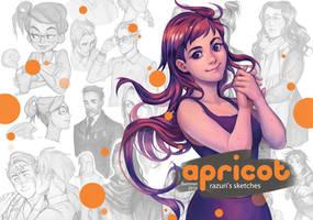 Apricot PDF Sketchbook Issue 3 by Razurichan
