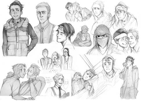 GM doodles
