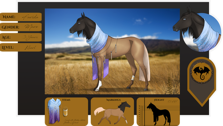 HotS | Farida | Lead Mare by FeatherCandy