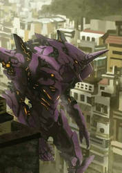 Evangelion unit-01 by Farishariyanto