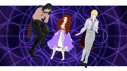 DL:Muriel,Portia and Lucio by MacyStarMoon