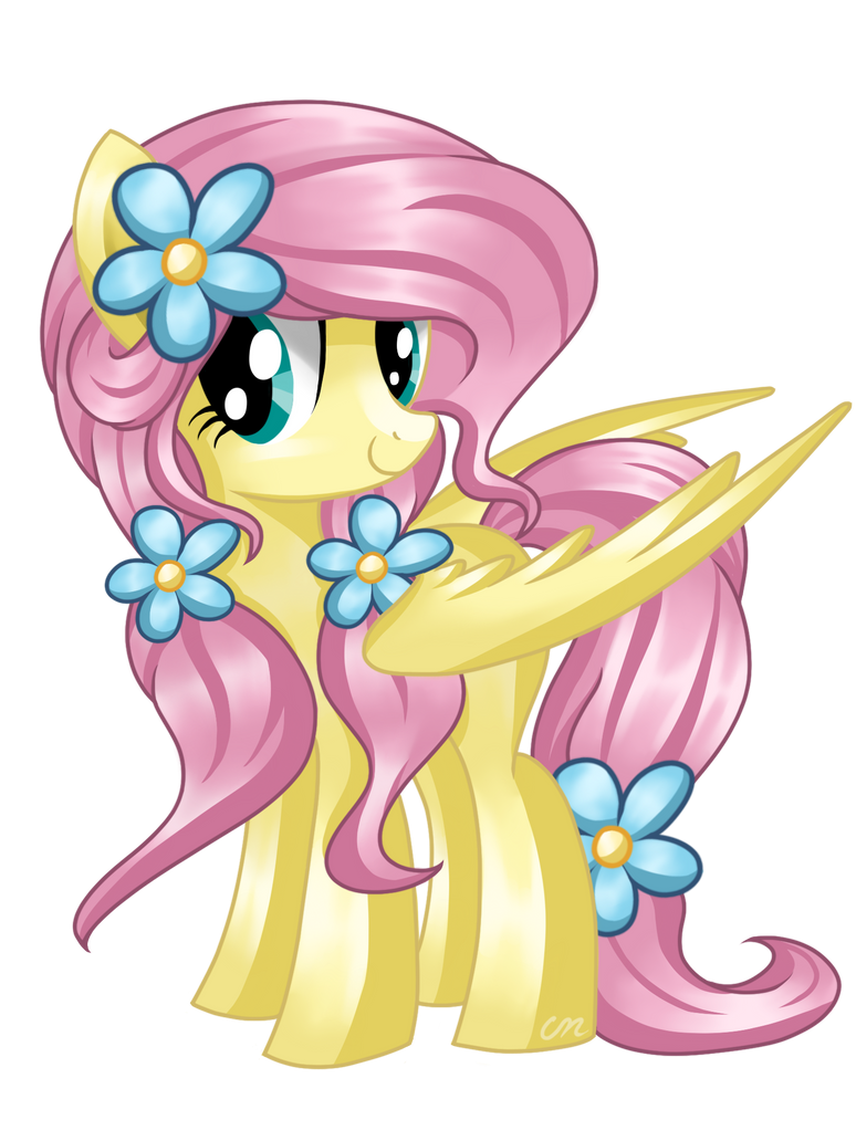 fluttershy__different_mane__by_sunshines