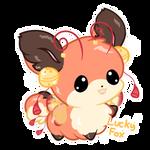 #040 Lucky Fox Floof-Fluff Auction (Closed!) by Sunshineshiny