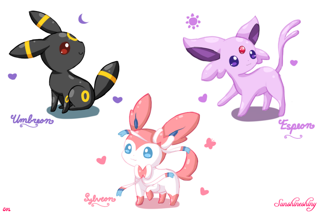 Espeon And Sylveon | www.pixshark.com - Images Galleries ...