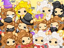 The Llamas of DeviantArt! by Sunshineshiny