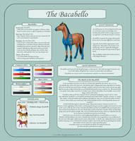 Bacabello - Breed Sheet by silverglass19