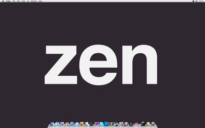Zen Desktop by xQlusiveEvan