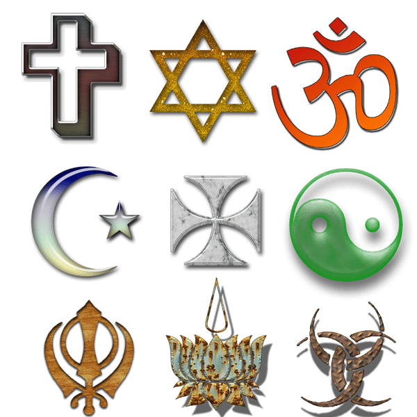 Religious Symbols By Supostabme On Deviantart