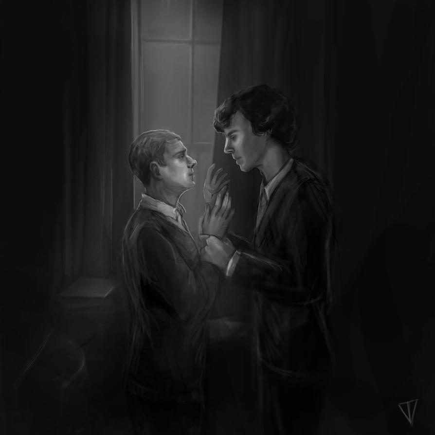 In the dark by VladaTee