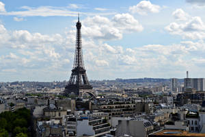 Above The Parisian Roofs by jofi555