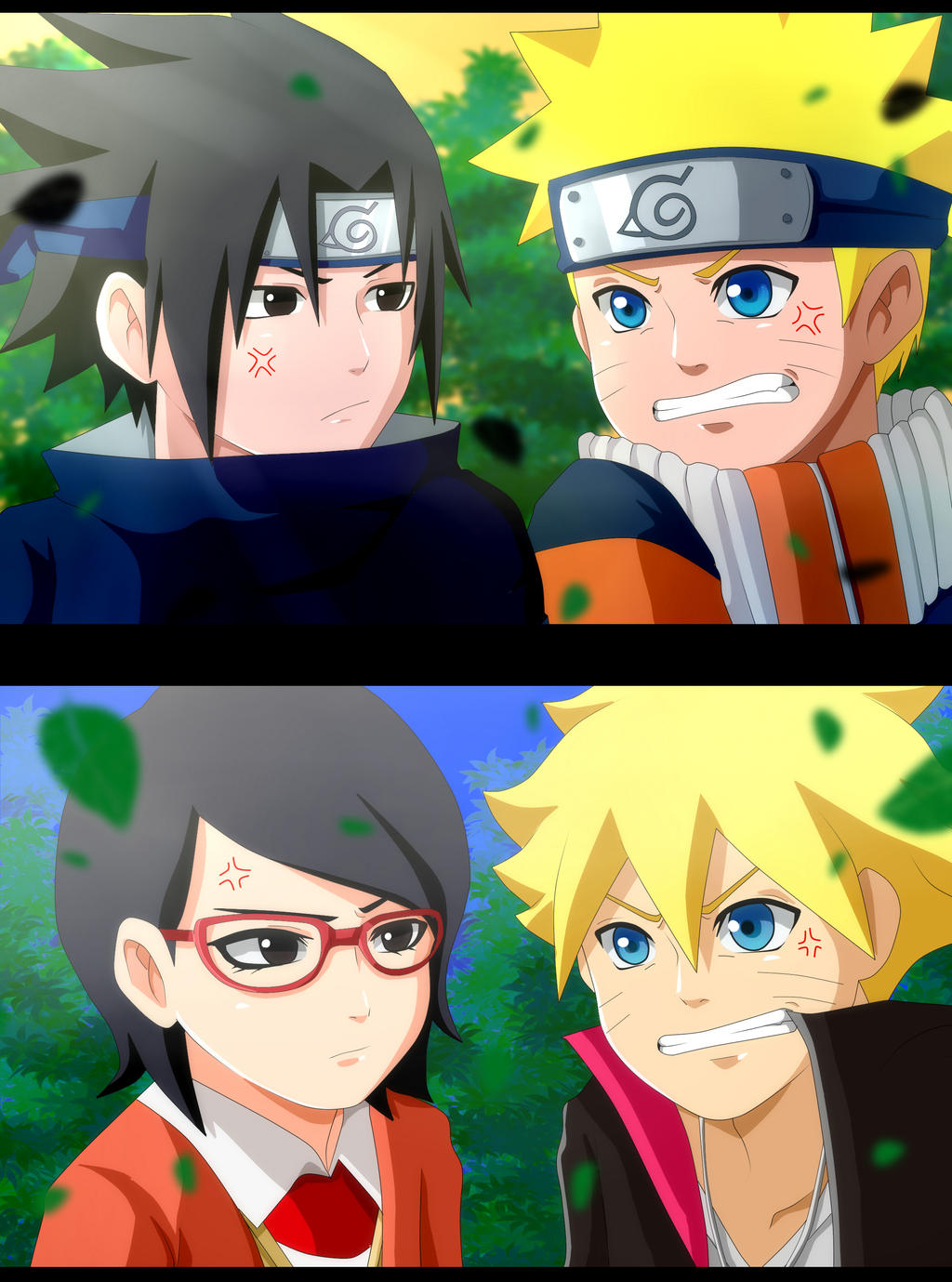 Naruto resemblance by ichata on deviantart