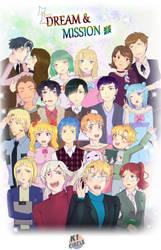 All KI circle Characters