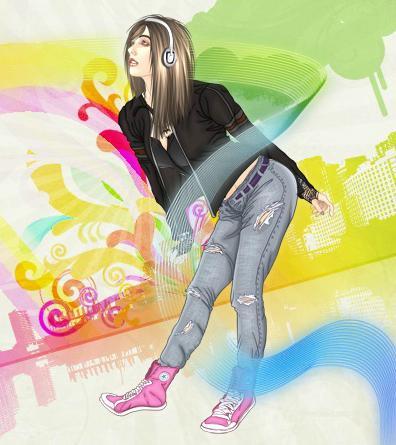 Emo Fashion Dress Up Music By Dozendonuts On Deviantart