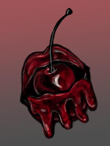 cherry by Goldphishy