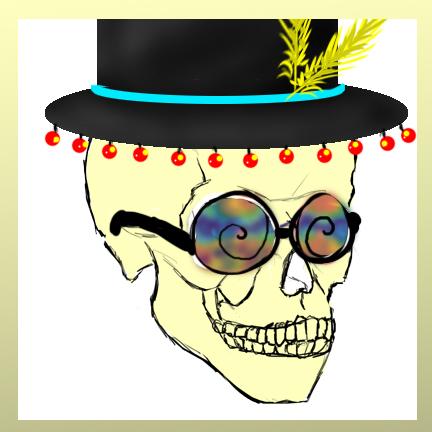skull by Goldphishy