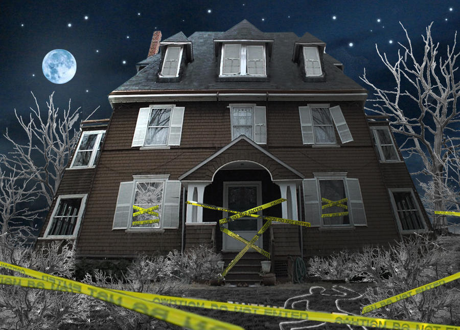 scary house by Goldphishy
